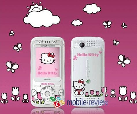 hit the market just in time for V Day. sony-ericsson-f305-hello-kitty