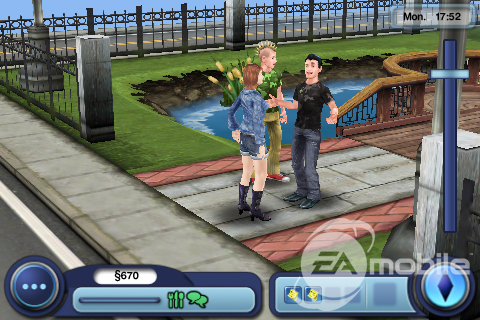 The Sims 3 for iPhone Gets Checked Out | GSMDome com