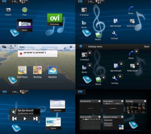 Nokia-N900-interface