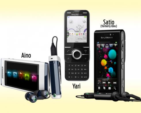 Sony Ericsson Satio, Yari and Aino Release Dates Now ...