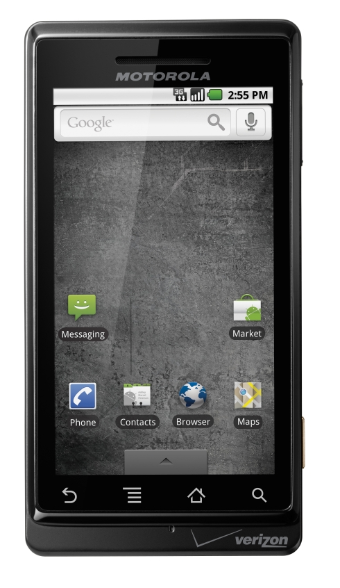 DROID by Motorola Front Home