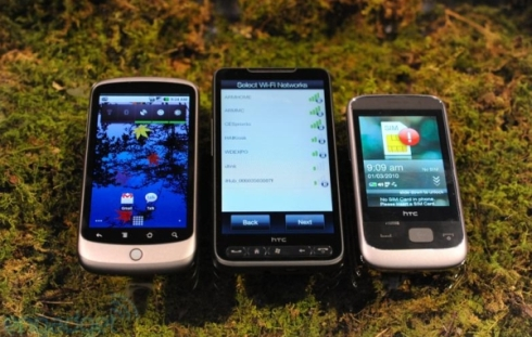 HTC Smart Gets Handled by Engadget at CES 2010