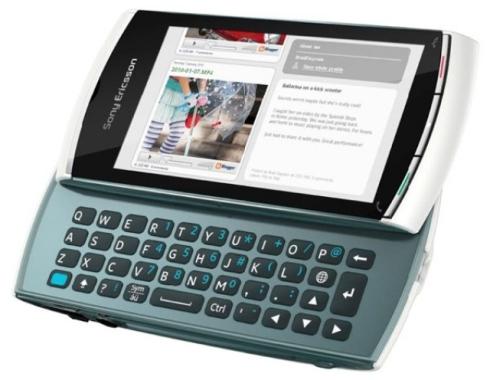 sony ericsson vivaz u5a. Sony Ericsson Vivaz pro comes