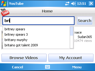 App youtube symbian s60 software download