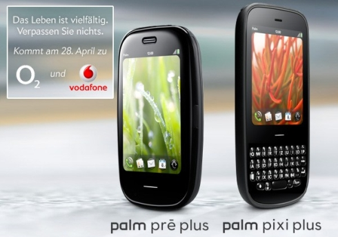 Palm Pre Plus and Pixi Plus Available Through Vodafone and ...