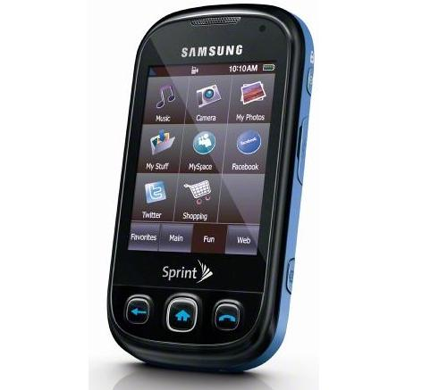 samsung seek m350 available on sprint for $30, on contract