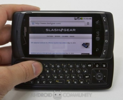 lg ally android. QWERTY phone like LG Ally,