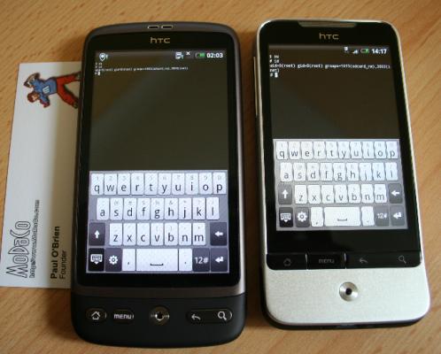 HTC Legend and Desire Get OTA Updates, Bug Fixes