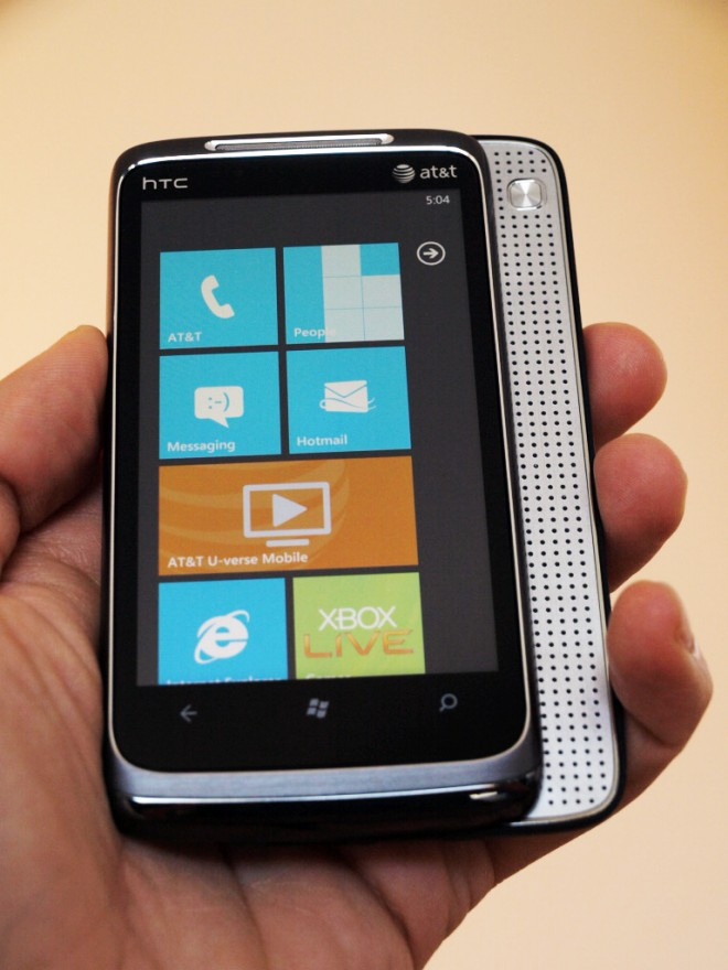 windows phone nodo update ready for htc surround. Black Bedroom Furniture Sets. Home Design Ideas