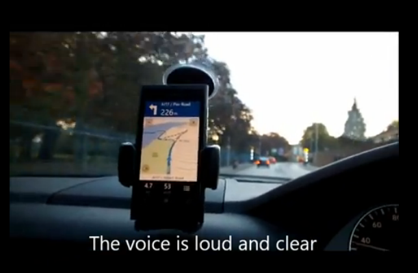Nokia Drive Shown in Action at Nokia World 2011 on Lumia 800 Model