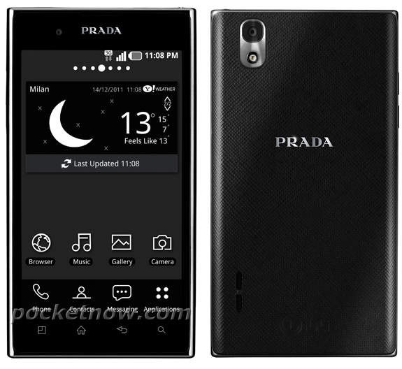 LG Prada Phone 3.0 Gets Pictured in Official Press Shots ...