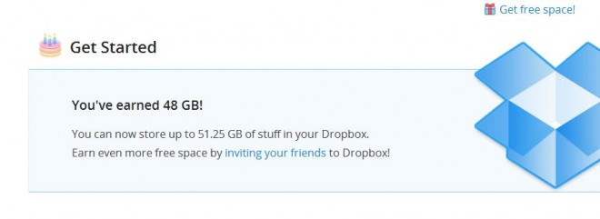 Galaxy SIII Dropbox app now offers 48GB Free space to all! | GSMDome.com