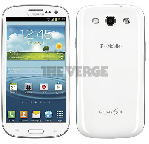 samsung galaxy s iii for t mobile usa gets pictured in