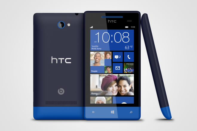 WP 8S by HTC Atlantic Blue