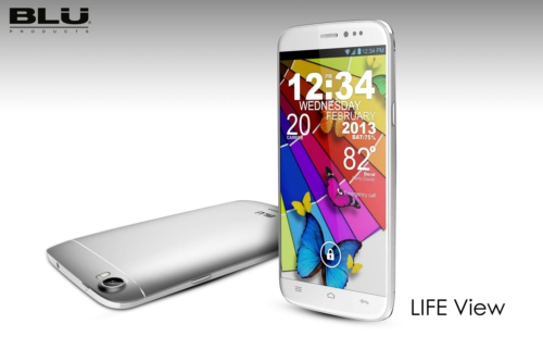BLU PRODUCTS LIFE VIEW