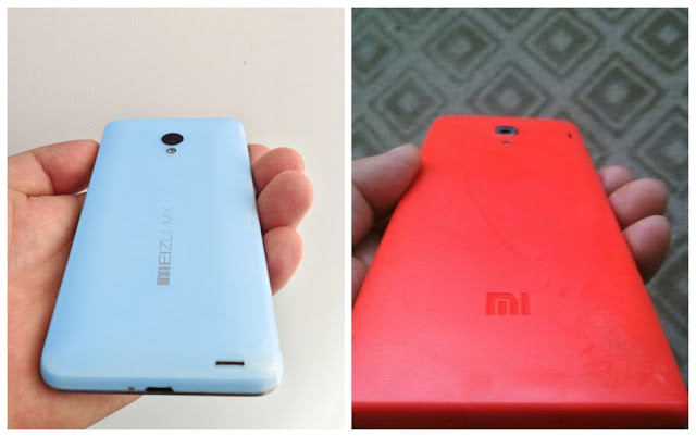 meizu mxiii red and blue