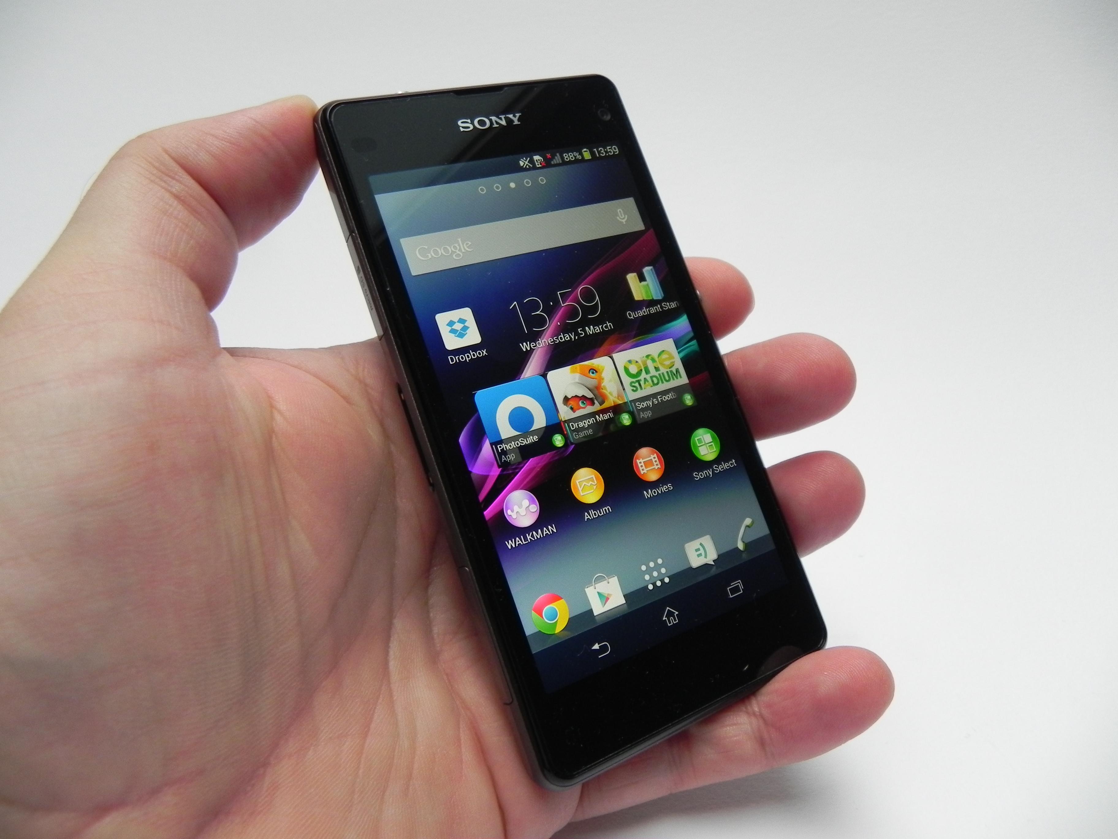 Sony Xperia Z1 Compact D5503 16GB Smartphone 1279-8473.3 B&H  |Sony Xperia Z1 Mini