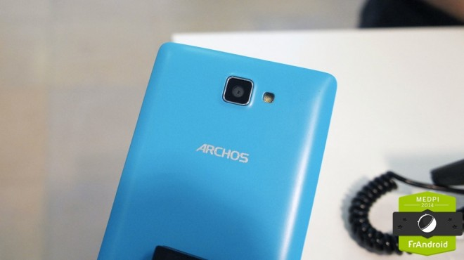 archos 50 neon is a new colorful android phone priced at less than 100 euros