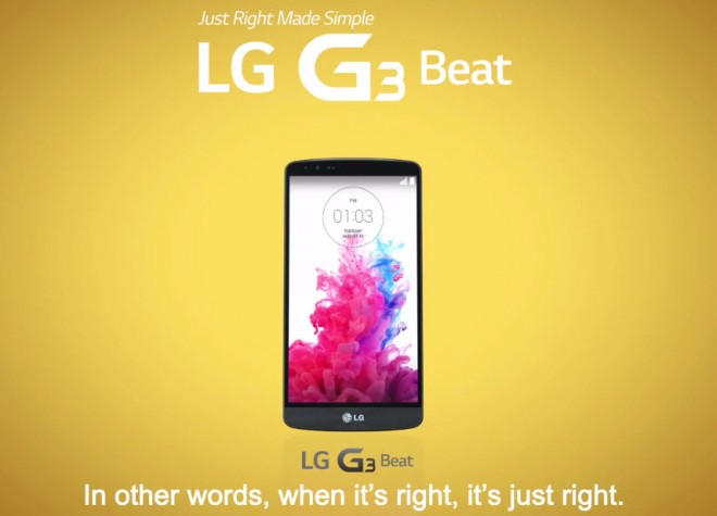 LG G3 Beat Promo Video