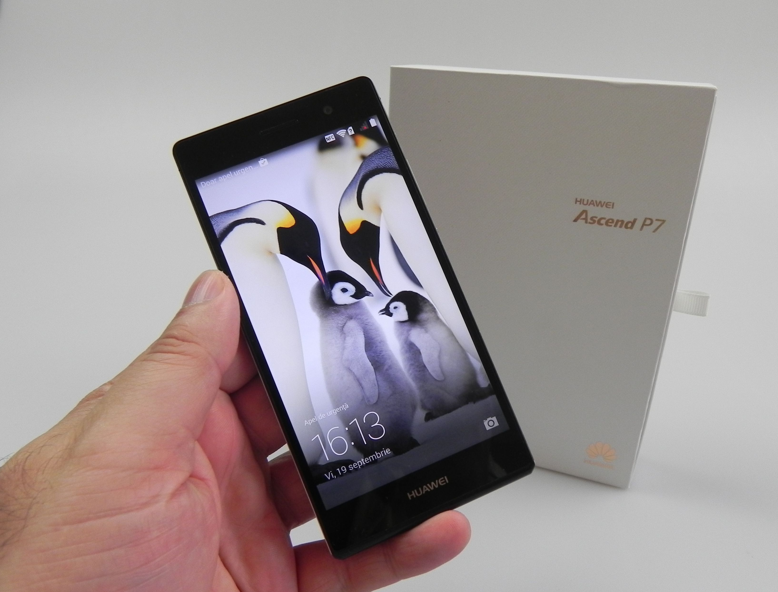 Huawei Ascend P7 Unboxing: Thin, Elegant and Glassy (Video ... Huawei P7 White