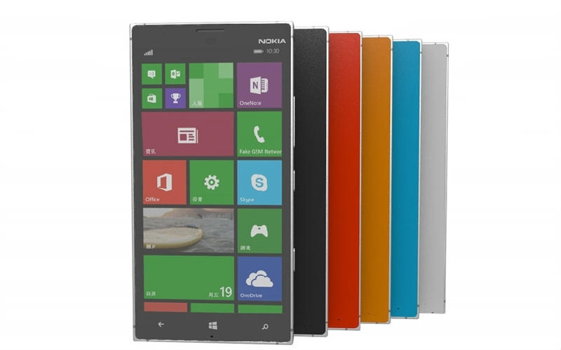 Nokia lumia 1030 gets rendered going by the designs of the latest