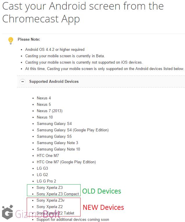 Chromecast-Screen-Casting-for-Xperia-Z2