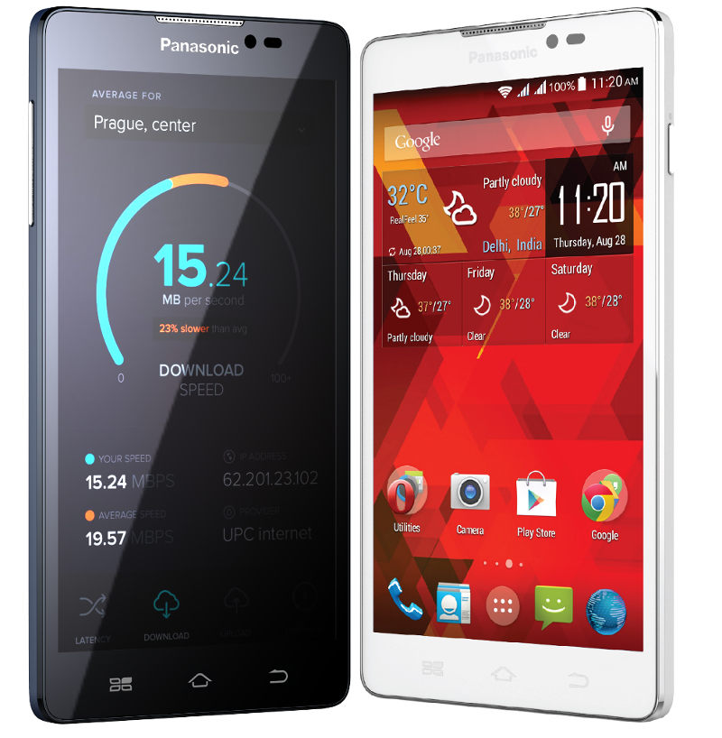 panasonic p55 is a 5 5 inch hd phablet priced below 200. Black Bedroom Furniture Sets. Home Design Ideas