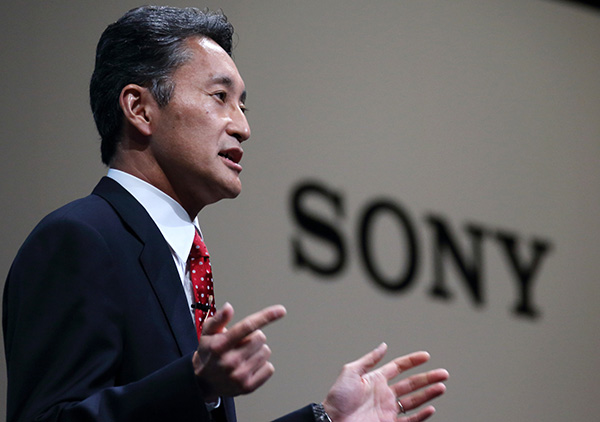 Sony CEO Kazuo Hirai News Conference