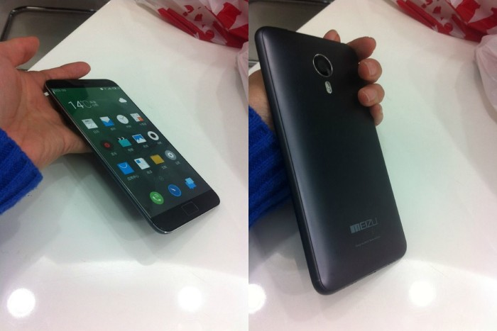Meizu MX4 Note Phablet Shows Up In A First Live Picture ...
