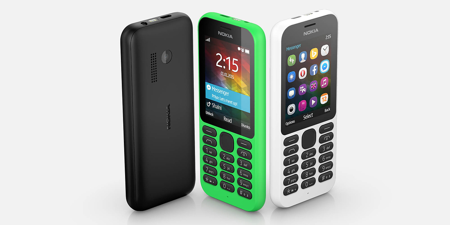 CES 2015: Microsoft Announces the Nokia 215 Affordable Internet-Phone ...