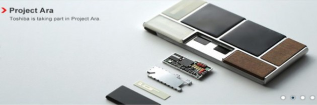 Toshiba Has Just Become a Major Project Ara Partner, Making Module ...