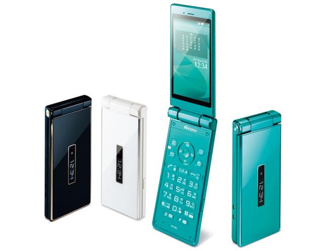 New Android keitai Flip phone: Sharp Aquos SH-06G