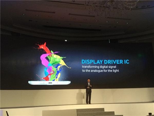 via display driver: