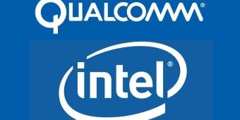 Qualcomm_ intel logo