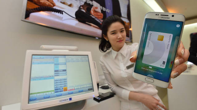 Samsung-mobile-payment-service
