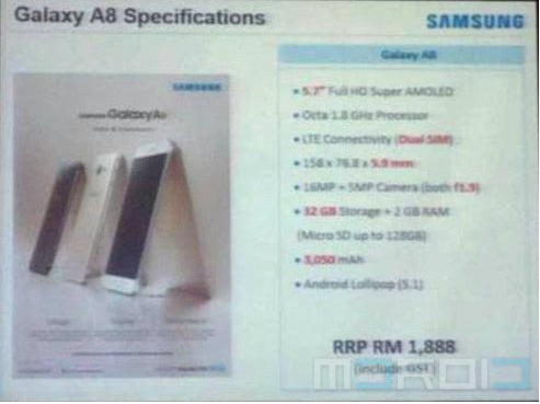 Samsung galaxy a8 price and specs revealed in malayasia gsmdome screenshot 2015 07 12 203320 publicscrutiny Gallery