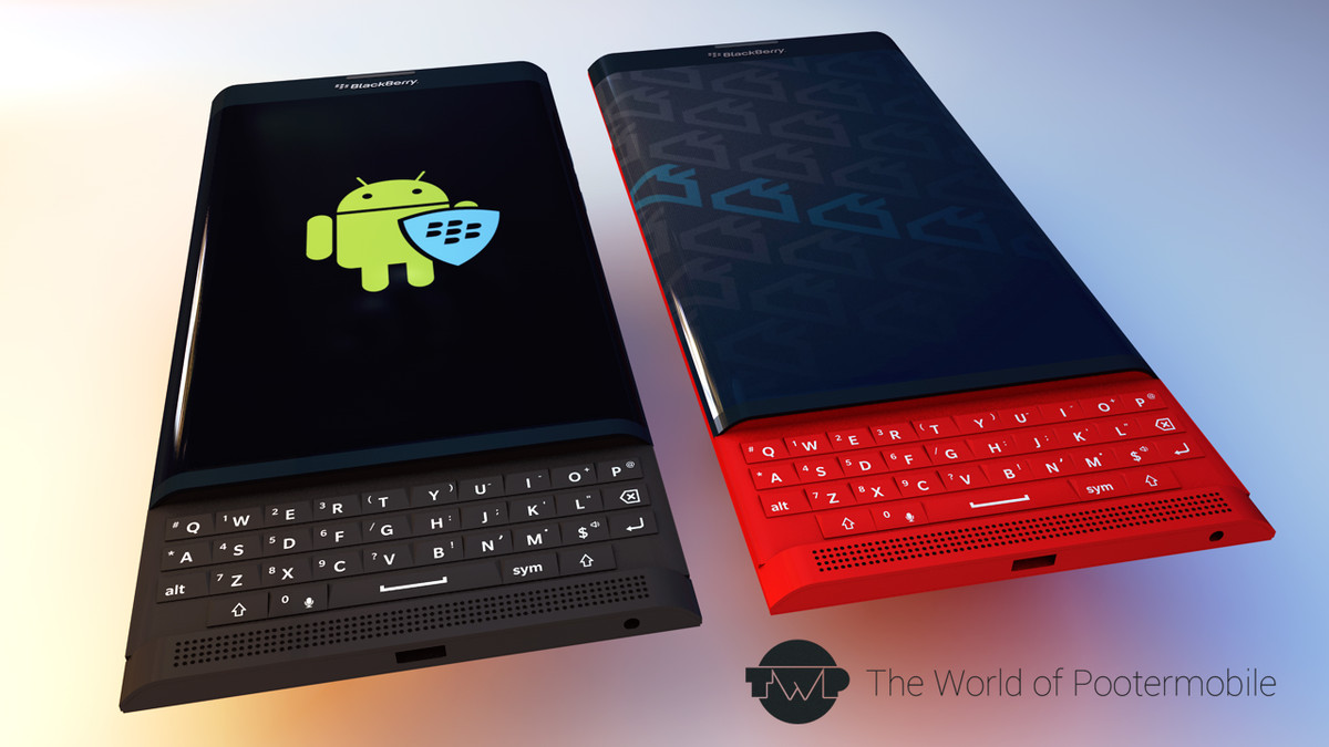 BlackBerry Venice Slider Gets Rendered in Several Color ...