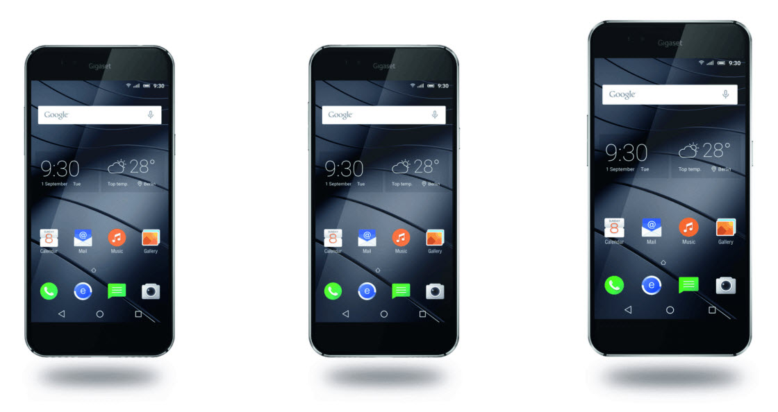 review android smartphones gigaset pure