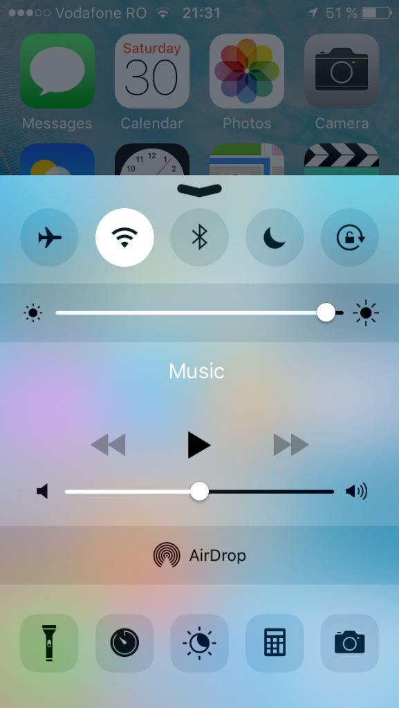 UI iphone se 1
