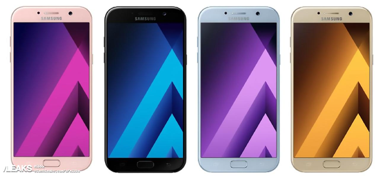 Samsung Galaxy A5 2017 Leaked In Renders Specs And Price 4 Color