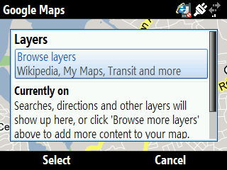 Google Maps Layers2