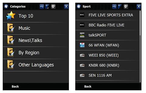 SPB Radio Station Listing
