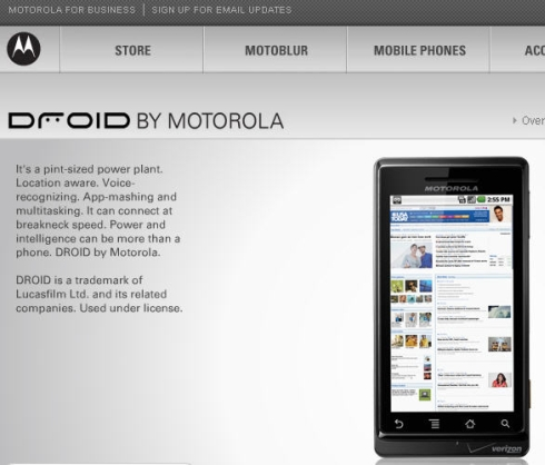 Verizon-Motorola-Droid-site