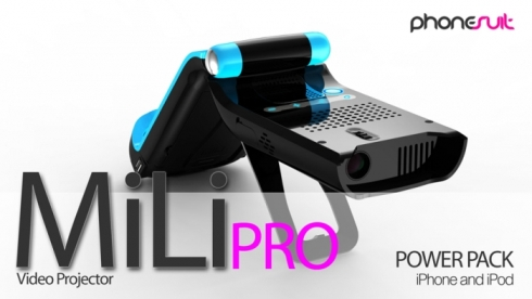 iphone movie projector mili pro the cool iphone ipod projector gsmdome 12064
