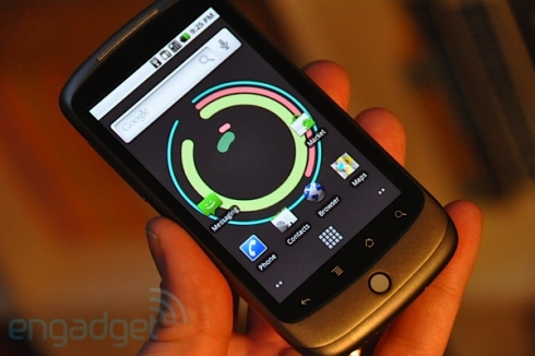 Nexus One, First Impressions on Engadget