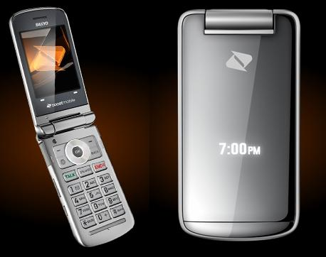 Boost Mobile Launches Sanyo Mirro Scp3810 Flip Phone