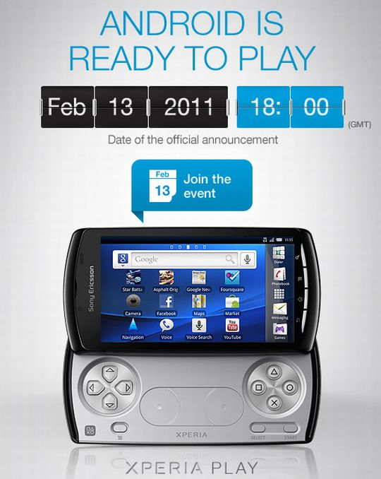 Xperia Play: Android Is Ready to Play