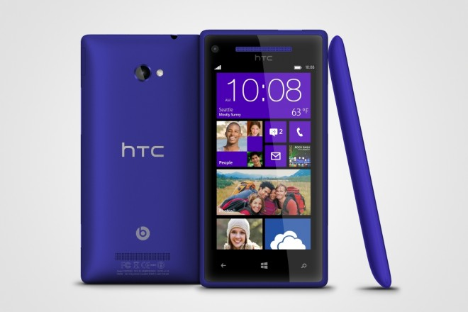 WP 8X by HTC California Blue