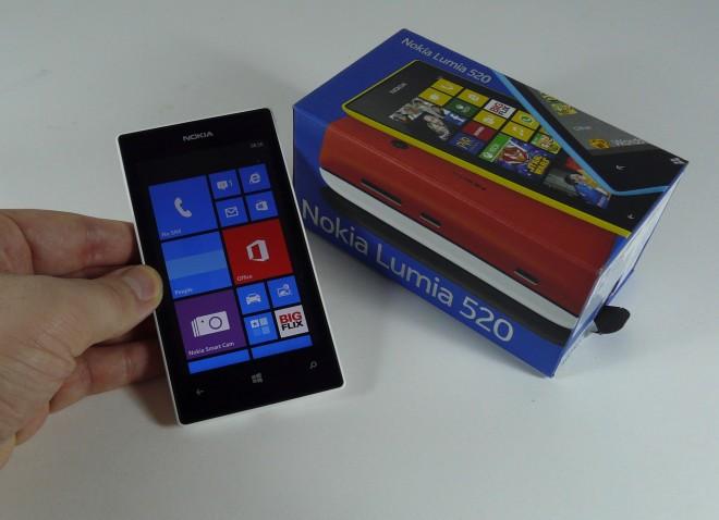 lumia 520 unbox