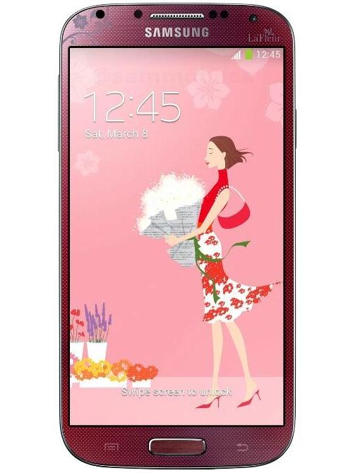 Samsung-Galaxy-S4-La-Fleur-red